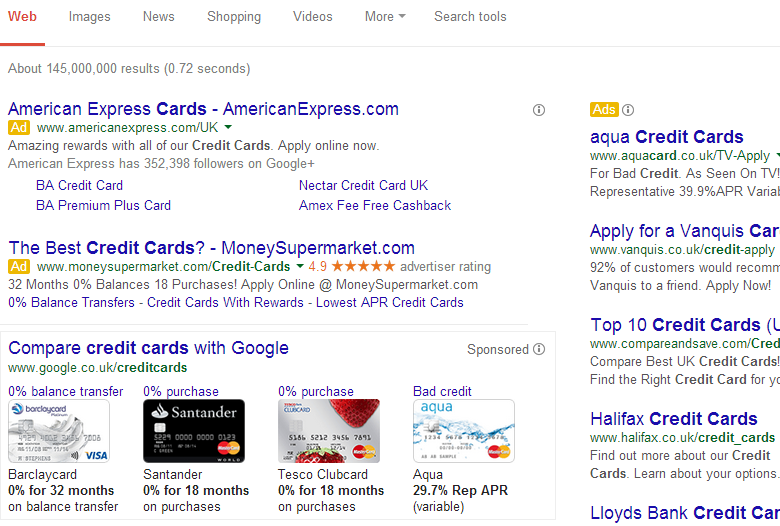 google-comparison-ads-uk